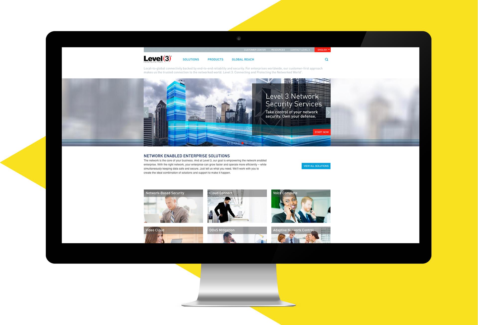 Level3-Website-Mockup