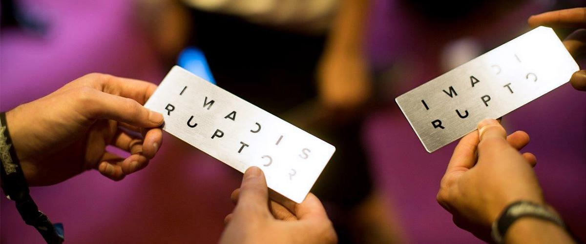 Entry ticket to Design Disruptors