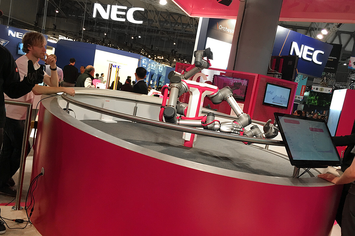 MWC 2017 Robotic Arm