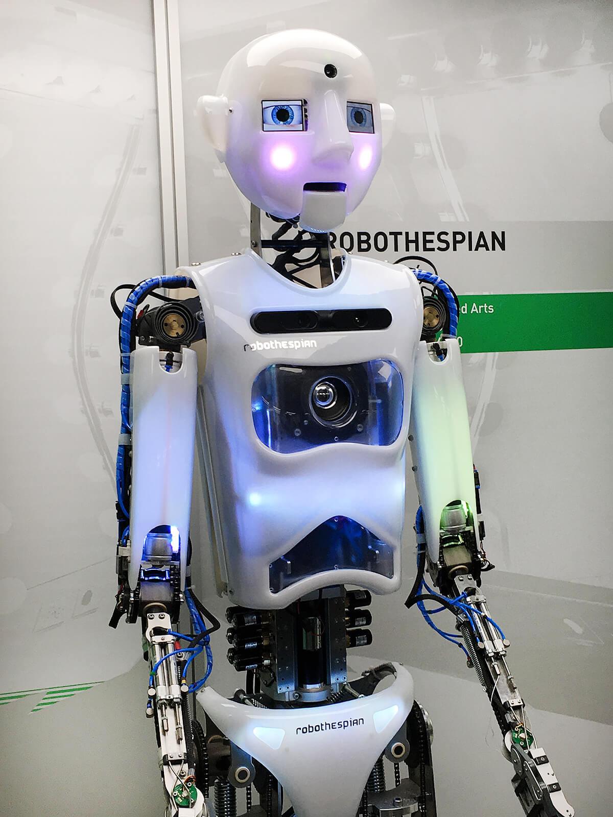 Robothespian Robot, Science Museum