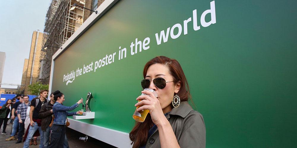 Carlsberg experiential marketing