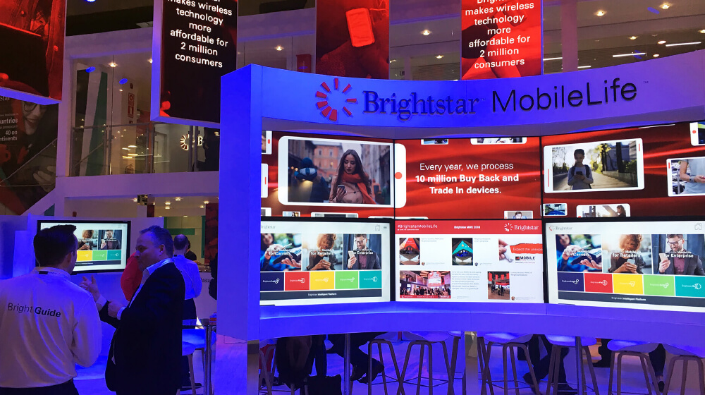 Brightstar MWC 2018 Stand