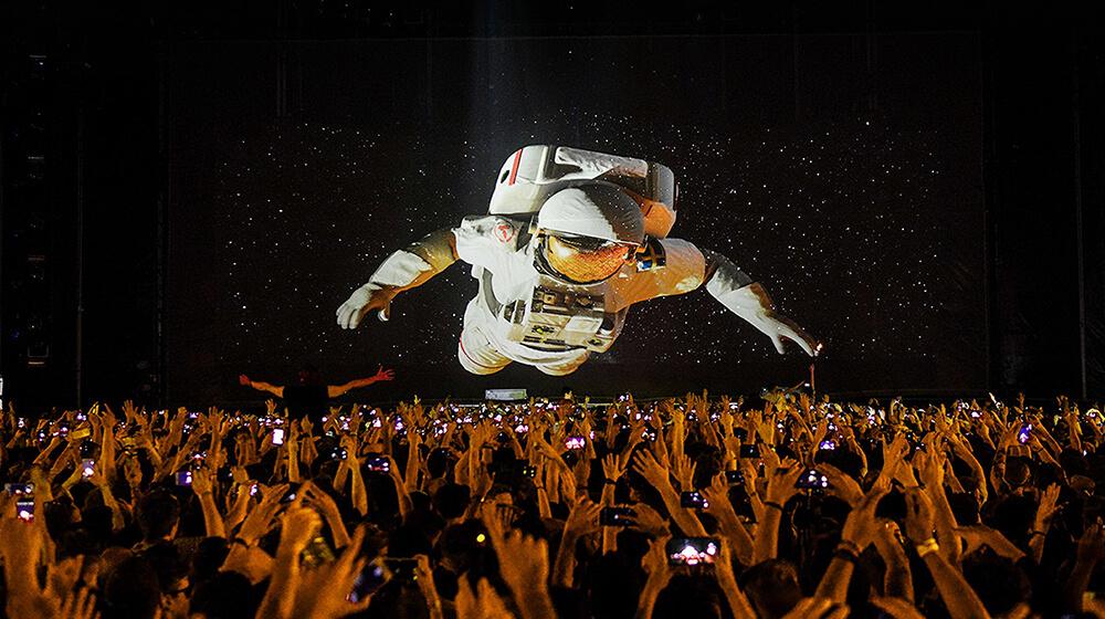 Eric Prydzy HOLO astronaut